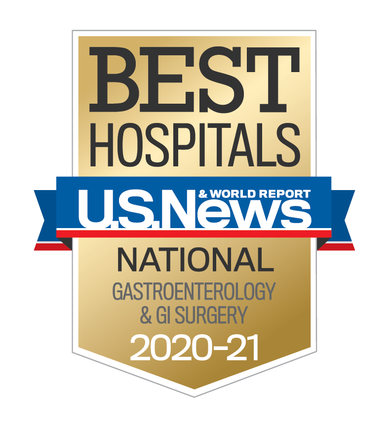 Specialty Ranking: Gastroenterology & GI Surgery